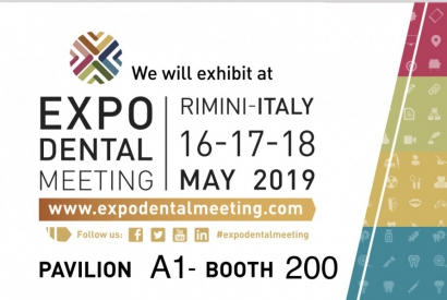 EXPODENTAL MEETING RIMINI 2019, 16-17-18 MAY