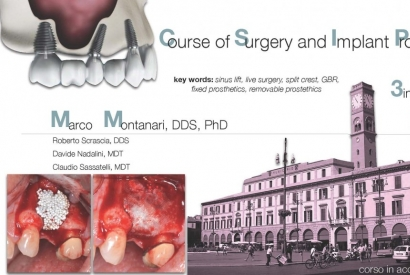 Surgery course and Implantoprosthesis